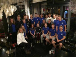 Eesti koondis Põhjamaade meistrivõistlustel Taanis Koldingus