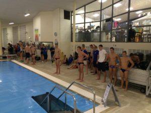 Eesti ujujad Koldingu ujulas päev enne võistluste algust