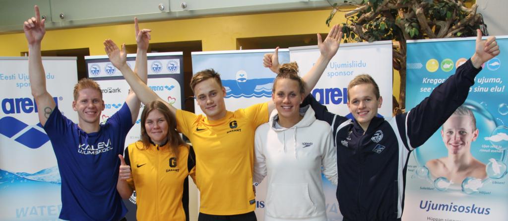 Eesti meistrivõistluste individuaaldistantsides Eesti rekordeid püstitanud ujujad