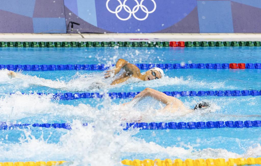 Kregor Zirk olümpial. Foto: Karli Saul